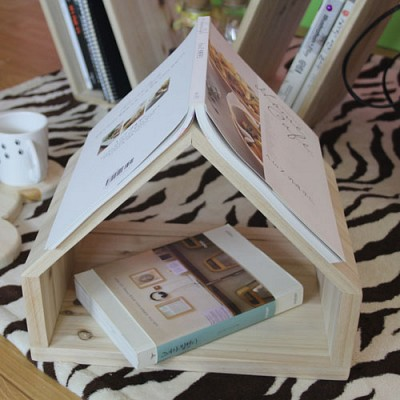 off_009. 하우스 책갈피(삼나무)