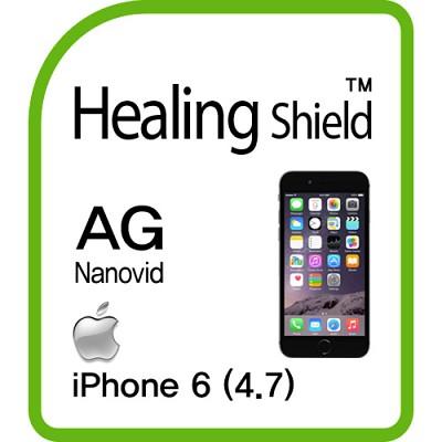 [힐링쉴드] 아이폰6 AG Nanovid 저반사 지문방지 액정보호필름 2매+후면보호필름 1매(HS143739)