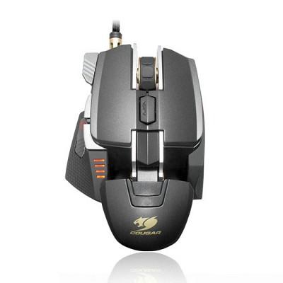 쿠거 레이저 게이밍 마우스 COUGAR 700M BLACK (8200DIP / 45도 스나이퍼 핫키 / DPI 변환 버튼 / 높낮이 조절 / 꼬임 방지 케이블 / 무게 조절)