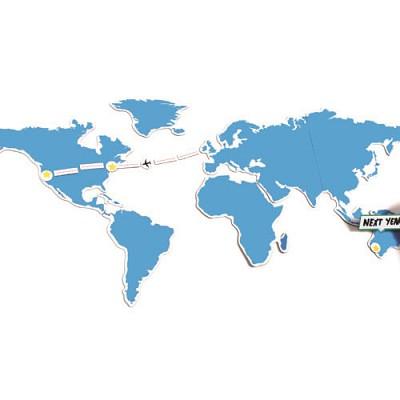 [원더스토어] 럭키스 자석 지도 Mapnetic