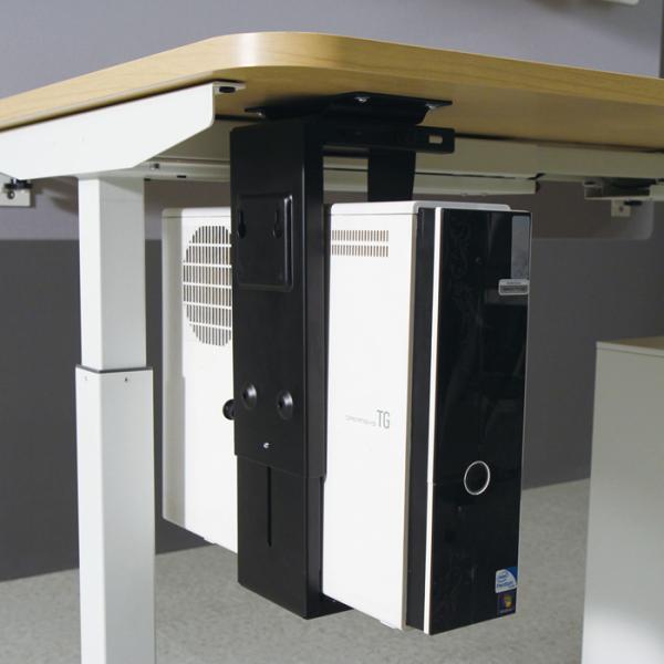 데스크탑 PC본체 거치대(책상하단부착) PM410