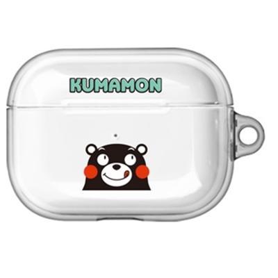 구마몬 러블리 투명 에어팟프로/Pro 케이스      민트