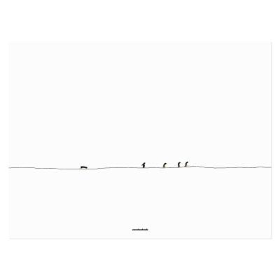 [카멜앤오아시스] Long Way To Go 펭귄 포스터