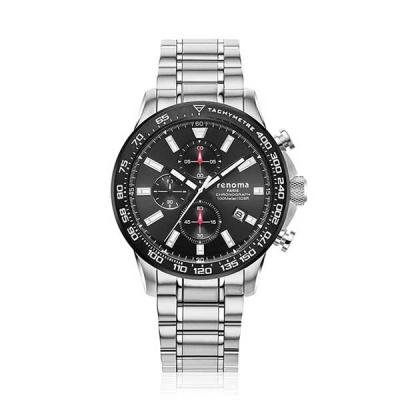 [레노마] 손목시계(100M방수) 블랙 RE-2002BK