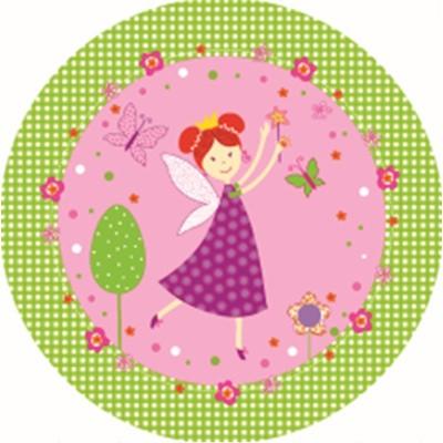핑크페어리 종이접시