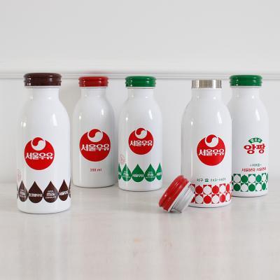 서울우유 레트로 보온보냉 텀블러 - 5type