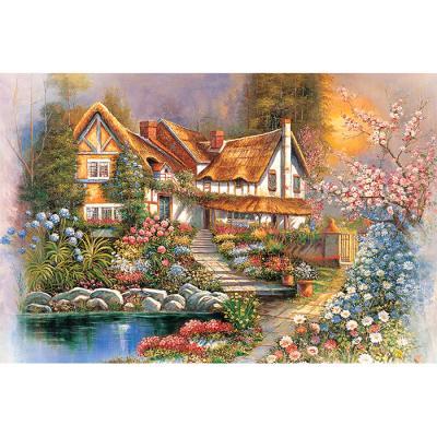 1000피스 직소퍼즐 - 꿈속의 작은 집 (야광)