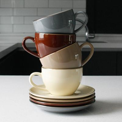 에크렌 골드 림(rim) 노블 커피잔1인세트 - 4color