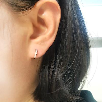 [이자벨미뇽] 14K 미스티카 오팔 귀걸이 EK20056