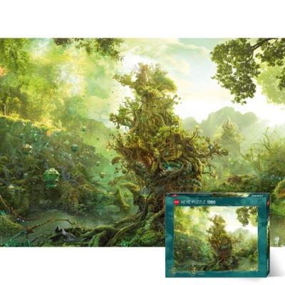 1000조각 직소퍼즐▶ 미지의 나무 숲 [HE29827]
