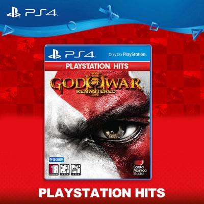 PS4 갓오브워3 리마스터 한글판