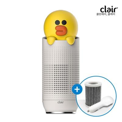 [클레어] 라인프렌즈 샐리 휴대용 공기청정기