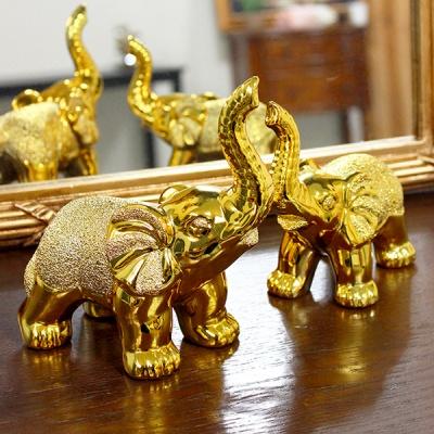 (kcrz080)키다리 황금 코끼리 2P set