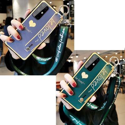 갤럭시노트10 S20/plus/Ultra 하트 스트랩 젤리케이스