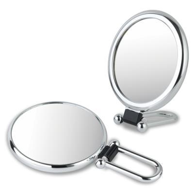 접이식 욕실겸용 탁상용 양면거울 (실버/확대경)
