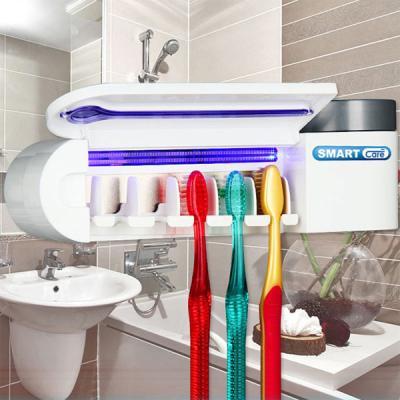 스마트케어 가정용 원적외선 칫솔살균기 칫솔걸이