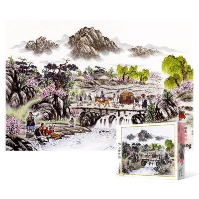 500피스 직소퍼즐 - 장가가는 날 (봄)