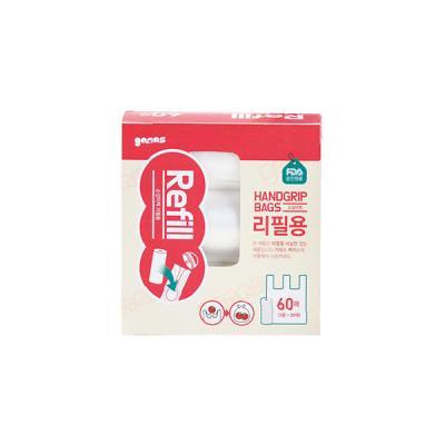 [가마스] 리필용 비닐 3롤 - 손잡이백