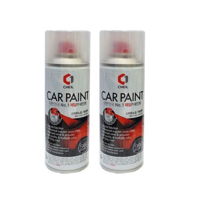 제일케미칼 카페인트 무광블랙 스프레이 자동차보수용