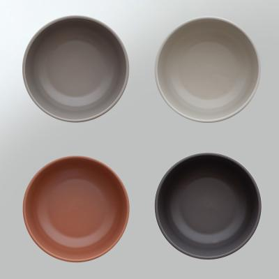 포홈 모던무광 국그릇 (4color)