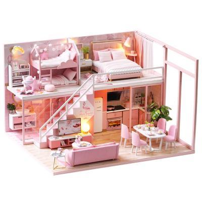 DIY 미니어처하우스 핑크 프린세스