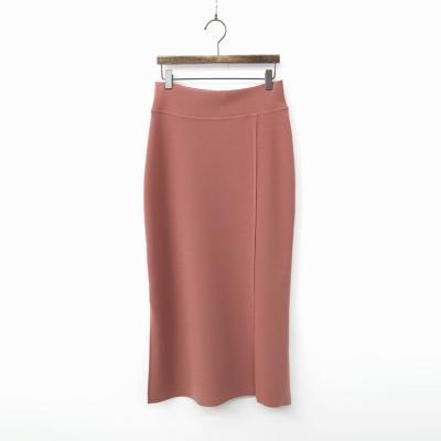 High Waist Slit Skirt