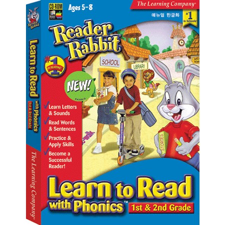 [CD-ROM] 리더래빗 Learn To Read With Phonics [1st - 2nd Grade] - 파닉스 3단계 최종편