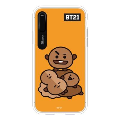 BT21 iPhoneX 슈키 그래픽 라이팅 케이스 (Hybrid)