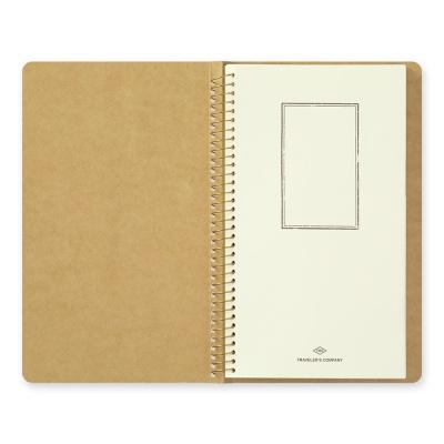 SPIRAL RING NOTEBOOK (A5 Slim) Paper Pocket