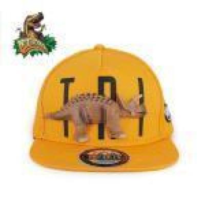 [다이노솔즈] 3D 트리케라톱스 공룡모자 스냅백