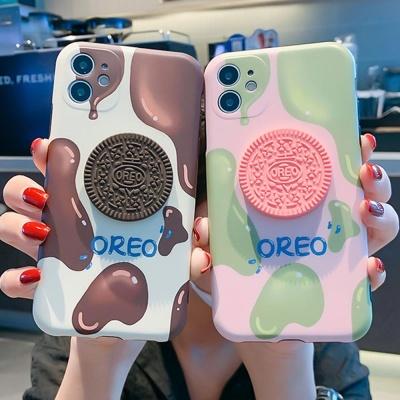 아이폰11 pro max xr xs se2 8 7+ 쿠키 실리콘 케이스