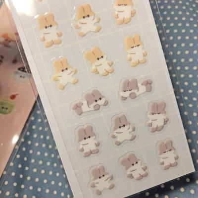 토끼 젤리 스티커