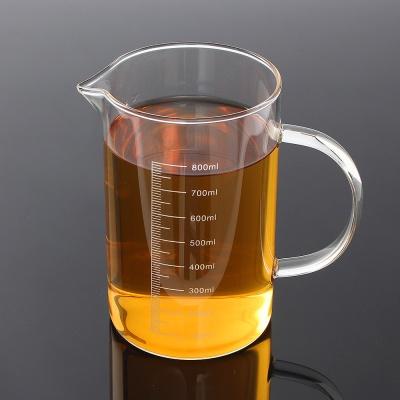 [로하티]키친 내열 유리 계량컵 / 요리 베이킹 비커