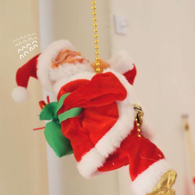 밧줄 타는 산타장식