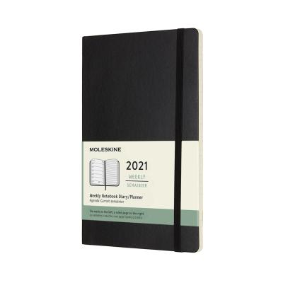 몰스킨 2021위클리/블랙 소프트 L