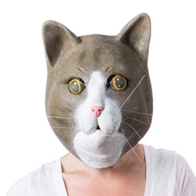 브라운캣 마스크 고양이 파티 가면