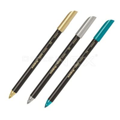 에딩 메탈릭칼라펜 1.0mm 메탈은색 은색