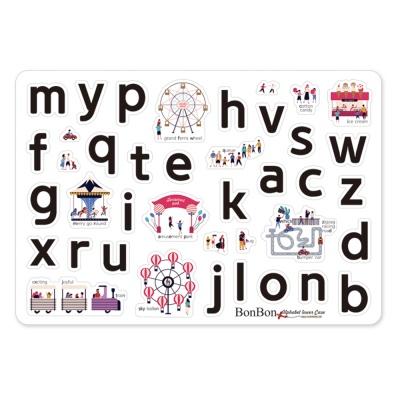 [꼬메모이]쥬에 봉봉 2종+1종 세트 / 한글 자석 퍼즐