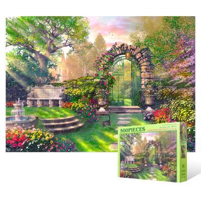 500피스 직소퍼즐 - 정원의 문