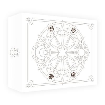 카드캡터체리 스티커 세트 2(50장,화이트케이스)