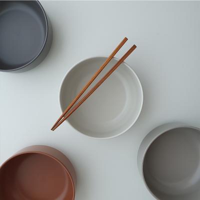 포홈 모던무광 탕기 면기그릇 (4color)