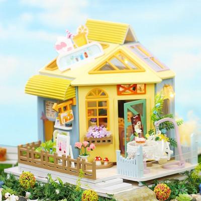 DIY 미니어처 하우스 - 밀크티 하우스