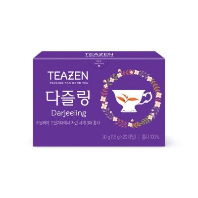티젠 다즐링 홍차 20티백