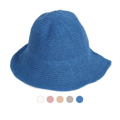 [디꾸보]여성 페도라 턱끈 와이어 모자 DCH-AC528