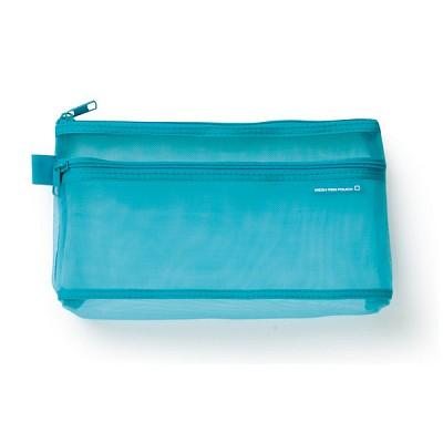 CL MESH 펜 파우치 - 블루