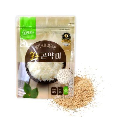 웰빙으로 채워진 쌀눈 곤약미 곤약쌀250g 3봉