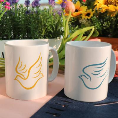 cf977-디자인머그컵2p-색이아름다운비둘기