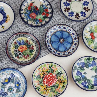 폴란드그릇 아티스티나 원형 접시 10cm 유니캇 모음전