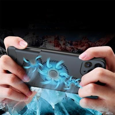 아이폰11 pro max/회전 톱니바퀴 실리콘 커플 케이스