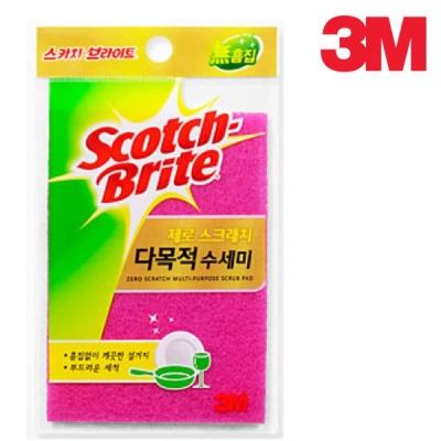 3M 제로스크래치 다목적수세미225(1입)